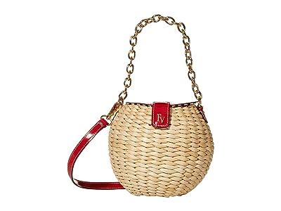 Frances Valentine Honeypot Crossbody (Red) Handbags