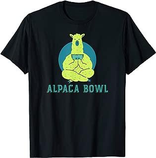 Alpaca Bowl Funny Marijuana / 420 T Shirt