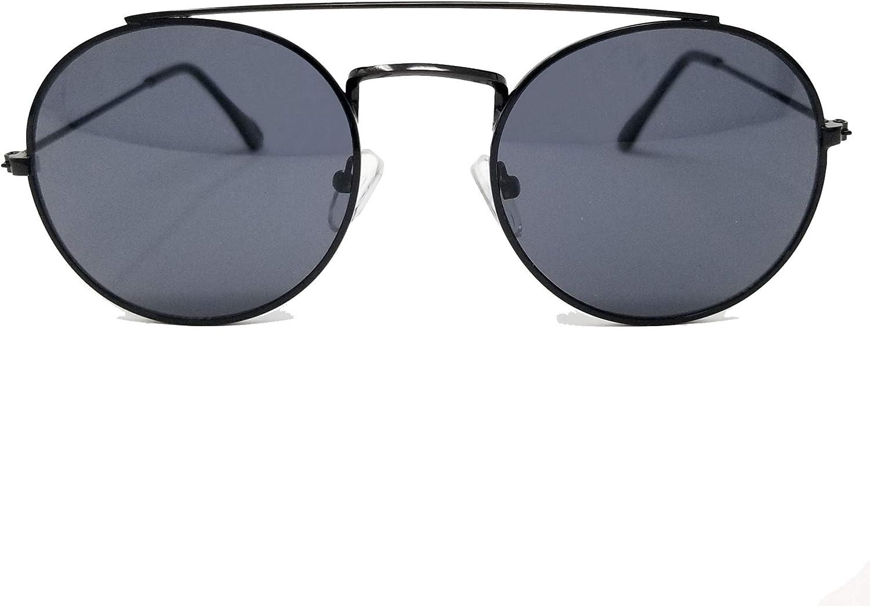 Image Labs Vintage Retro Round Circle frame Crossbar Sunglasses IL1016