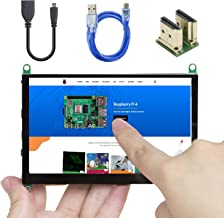 UCTRONICS 5 Inch Touch Screen for Raspberry Pi 4, 800×480 Portable Capacitive HDMI LCD Touchscreen Display Monitor for Pi ...