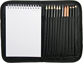 Compact and Portable Sketch Folio 1 Drawing Kit with Art Supplies