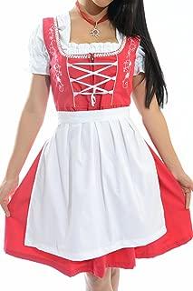 Authentic German Dirndl Rose Dirndl Dress