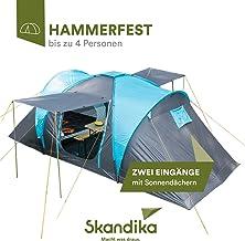 Amazon.co.uk: Skandika Tents Camping & Hiking: Sports