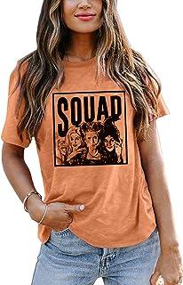 Sanderson Sisters Squad Cute T Shirt Halloween Graphic...