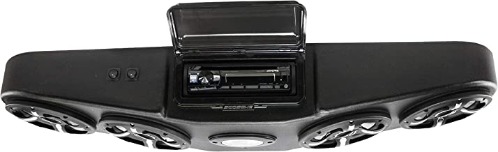 Canam Defender Stereo System with AM/FM Bluetooth CD Player with Sirius XM and LED Speakers