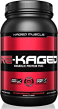 KAGED MUSCLE, RE-KAGED Whey Protein Powder, Post Workout Recovery, BCAA's, EAA's, Creatine HCl, Glutamine, Betaine, Natural Flavors, Strawberry Lemonade, 20 Servings