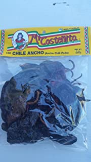 Chile Ancho - 8 Oz. - Ancho Chili Peppers - Dried Poblano Pepper - Mild to Medium Heat - Sweet & Smoky Flavor