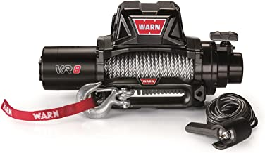WARN 96800 VR8 Electric Winch with Steel Rope-8,000 lbs. Capacity