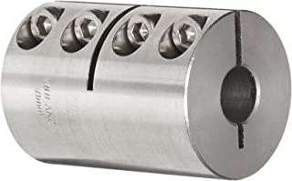 Ruland PSR20-4-4-SS 303 Stainless Steel Beam Coupling 0.250 x 0.250 Bores 1.500 Length 1.250 OD 4-Beam Set Screw Style