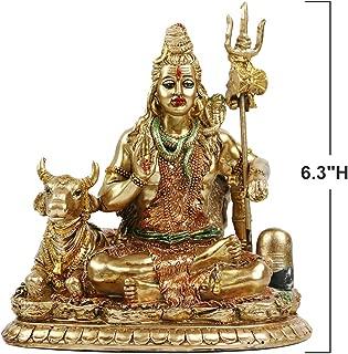 Lord Shiva Statue with Nandi - 6.3