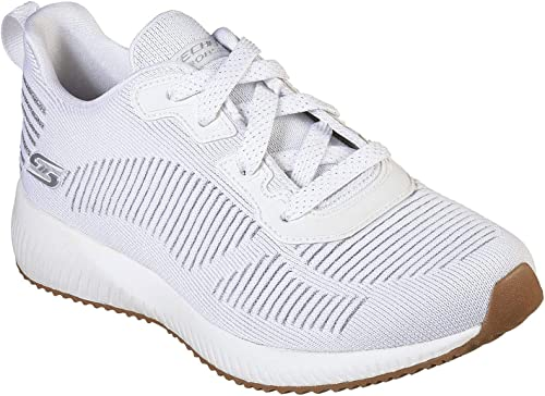 Skechers Bobs Squad Glam 31347-wht, Hauszapatos para mujer