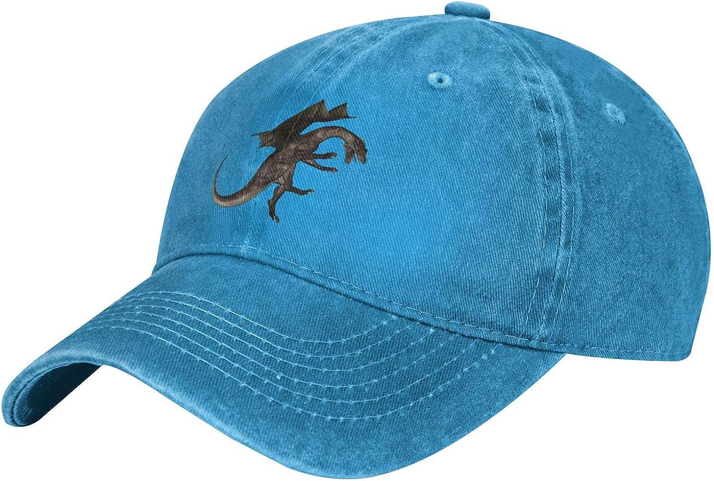 Evil Dragon Baseball Cap Adjustable Strap Cowboy Hat (Multicolor)