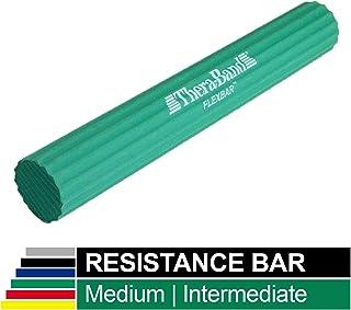 TheraBand FlexBar Resistance Bar For Improving Grip Strength, Tennis Elbow, Golfers Elbow, Tendonitis