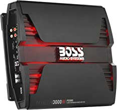BOSS Audio Systems PD3000 Class D Car Amplifier - 3000 Watts, 1 Ohm Stable, Digital, Monoblock, Mosfet Power Supply, Great for Subwoofers