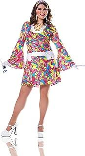 Women's Plus-Size Groovy Chic Costume