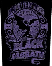 Black Sabbath Lord Of This World Backpatch Standard
