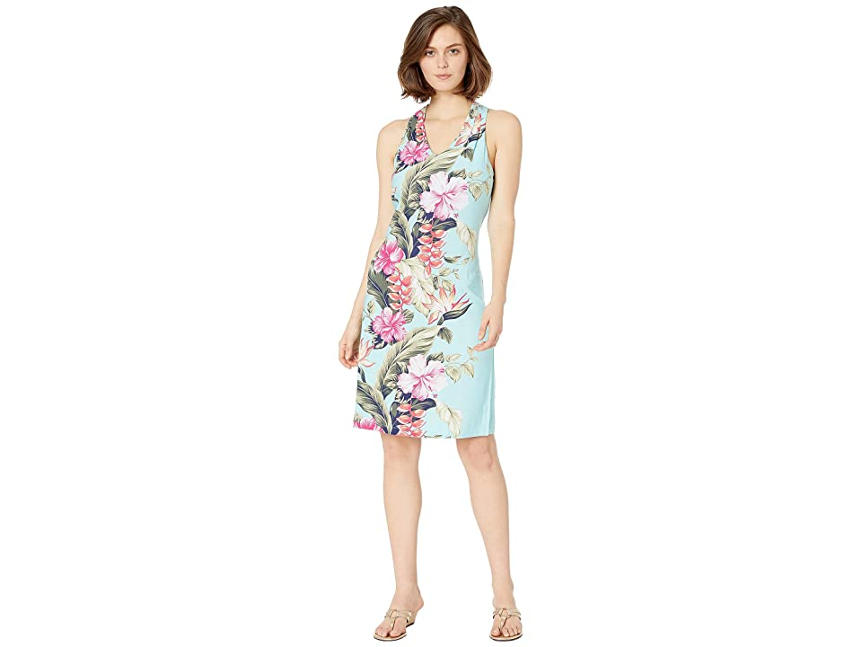 Tommy Bahama Kahuna Cascade Sleeveless Dress (Blue Swell) Women