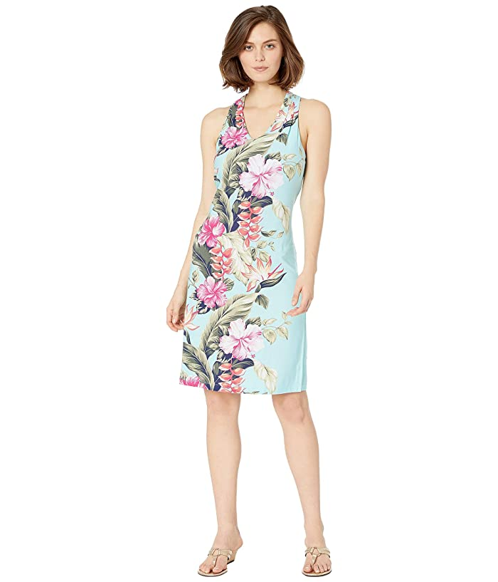 Tommy Bahama Kahuna Cascade Sleeveless Dress (Blue Swell) Women