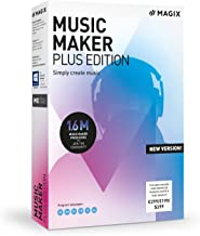 MAGIX Music Maker - 2019 Plus Edition - Produce, RECORD and Mix Music
