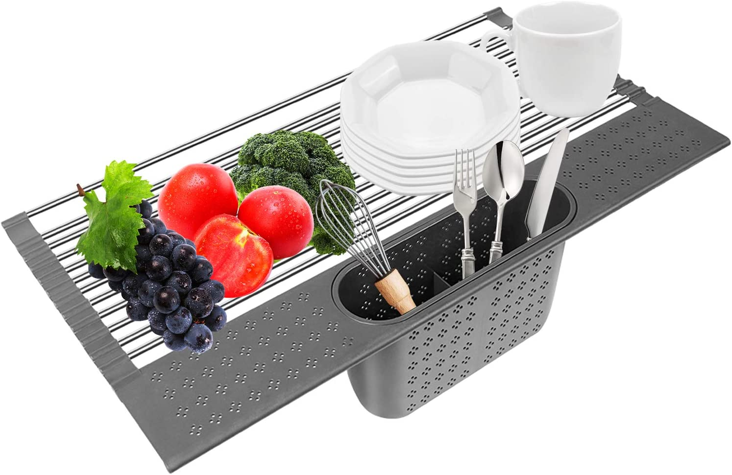 Roll Up Dish Drying Rack Large Save money Over Sink with S Atlanta Mall The Multipurpose