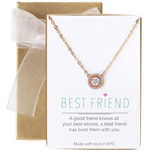 AMY O Friendship Necklace Best Friend Jewelry Gift