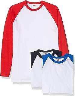 Baseball Classic Long Sleeve Camiseta (Pack de 3 para Hombre
