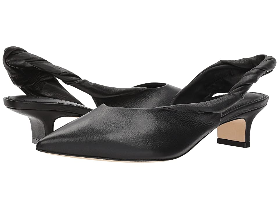Sigerson Morrison Melina (Black Buttery Leather) Women