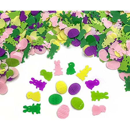 Happy Easter Confetti Sequins Embellishments