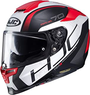 80270677 HJC Unisex Adult Full Face RPHA-70ST Vias Motorcycle Helmet (MC-1SF Black