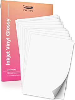 Best glossy white labels inkjet Reviews
