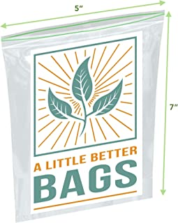 Biodegradable Snack Bags (XL 200 Count)