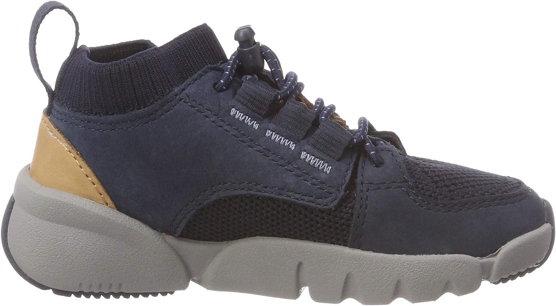 Clarks Boys Tri Lunar Low-Top Sneakers