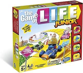 Game of Life B0654 Hasbro Gaming of Junior Game, Multi-Colour
