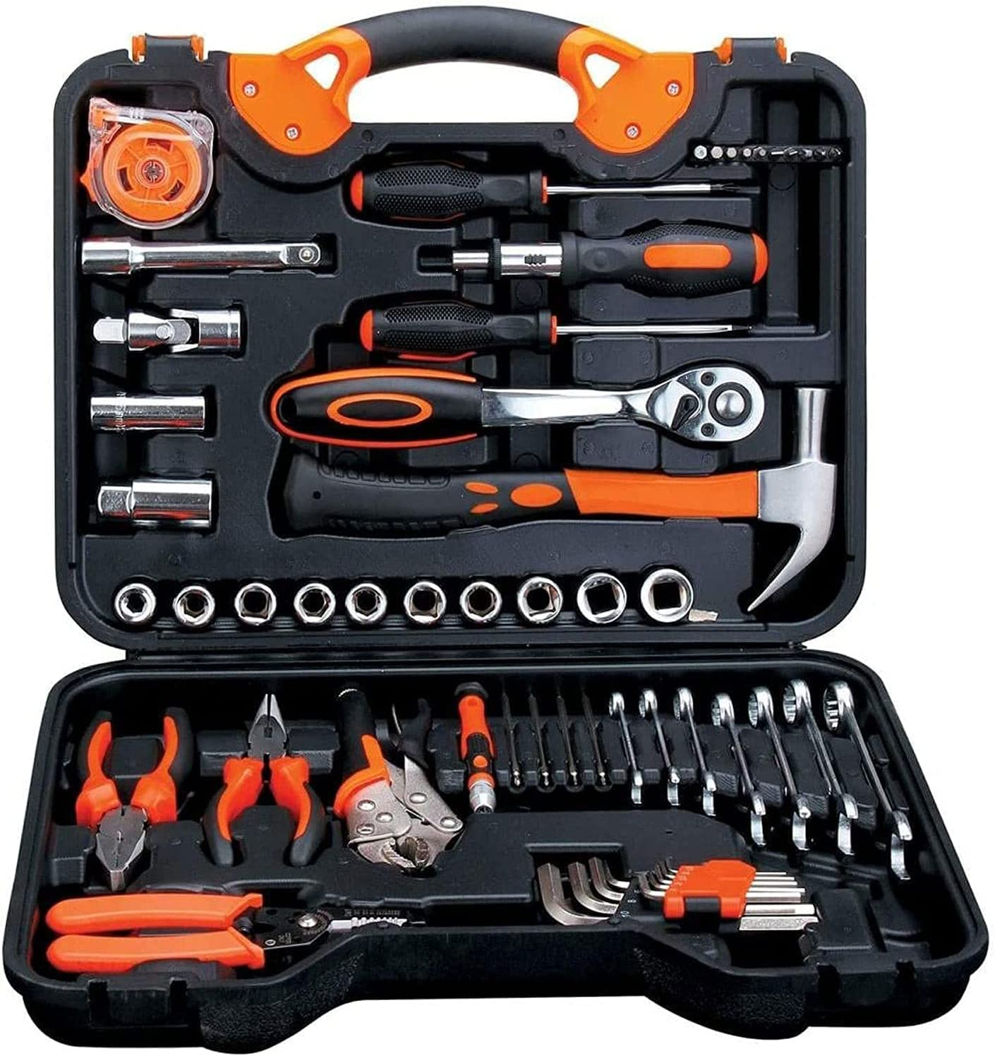 Ranking TOP11 MUMUJJ Austin Mall 55-Piece Hand Tool Set Aut Socket Household Mixed Wrench