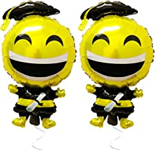Graduation Emoji Balloons for Graduation Decorations - Happy Grad Balloon with Degree / Diploma Helium Graduation Mylar Balloons | Emoji Graduation Ballon with Cap | Graduation Party Supplies 2019