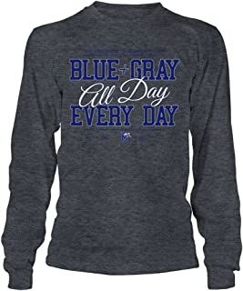 Memphis Tigers T-Shirt - University of Memphis Blue+Gray All Day