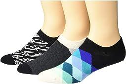 3-Pack Flash Sneaker Liner Socks