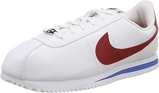 Nike Kid's Cortez Basic SL GS, White/Varsity RED