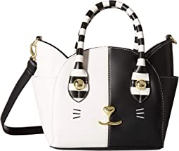 LBKatt PVC Satchel w/ Cat Face