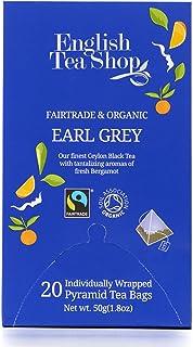English Tea Shop Organic Earlgrey, Pyramid Sachets, 60g