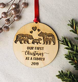 Best wooden engraved christmas ornaments Reviews