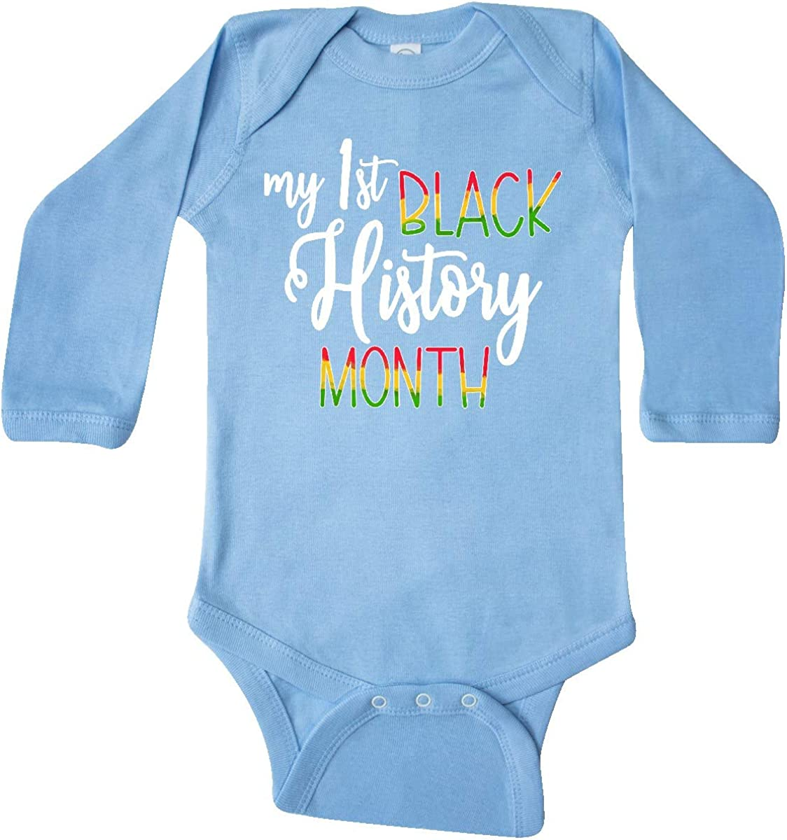 inktastic My 1st List 67% OFF of fixed price price Black History Sleeve Month Long Creeper