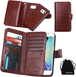 Galaxy S6 Edge Plus Case, Wallet Leather Flip Card Holder Case, 2 in 1 Detachable Magnetic Back Cover for Galaxy S6Edge Plus G9280 (NOT for S6/S6edge)