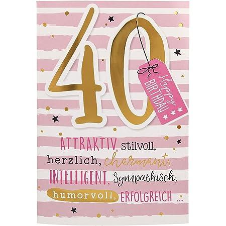 Geburtstag 40 mann sprüche lustige Lustige Glückwünsche