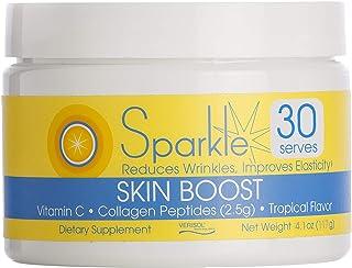 Hydrolyzed Collagen Powder - Sparkle Skin Boost (Tropical Coconut & Pineapple) [30-Serves] Verisol Collagen Hydrolysate Pr...