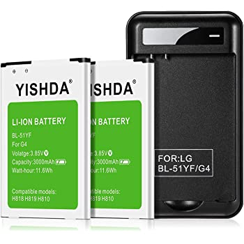 H815// H818 G4 Stylus BL-51YF 3000 mah Todobarato24h Bateria Compatible LG G4