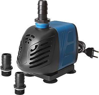 Cordon dalimentation AC220-240V 1.5m Leepesx Pompe deau Submersible de 150L H 2W pour Les fontaines de Table daquarium Pond Water Gardens et Hydroponic Systems avec Une buse 4.9ft
