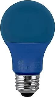 LED A19 Blue Light Bulb, 9W, (60W Equivalent), E26 Medium Base, 120V, UL Listed, (1 Pack)