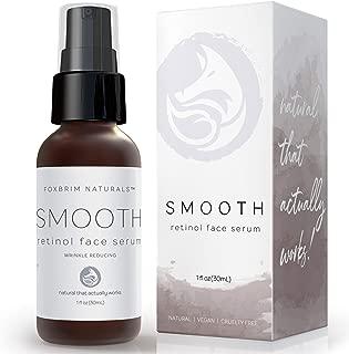 Retinol Face Serum - NEW FORMULA - Now With 3% Retinol - Anti Aging Face Serum - With Gotu Kola, Hyaluronic Acid, Horsetail Extract & Organic Jojoba Oil - 1OZ by Foxbrim Naturals