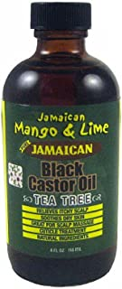 Jamaican Mango & Lime Black Castor Oil (Tea Tree) 4oz